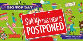Big Top AGM21 Postponed