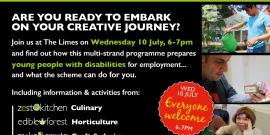 Employment scheme, life skills, disability, work opportunities