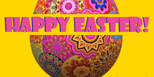 Happy easter, holiday, closed