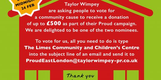 Taylor wimpy vote