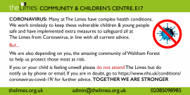 Coronavirus statement from The Limes, The Limes services