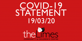 The Limes Covid19 Statement, Limes Services suspended.