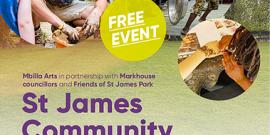 St James park, community event, e17 culture day