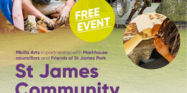 St James park, community event, e17 culture day