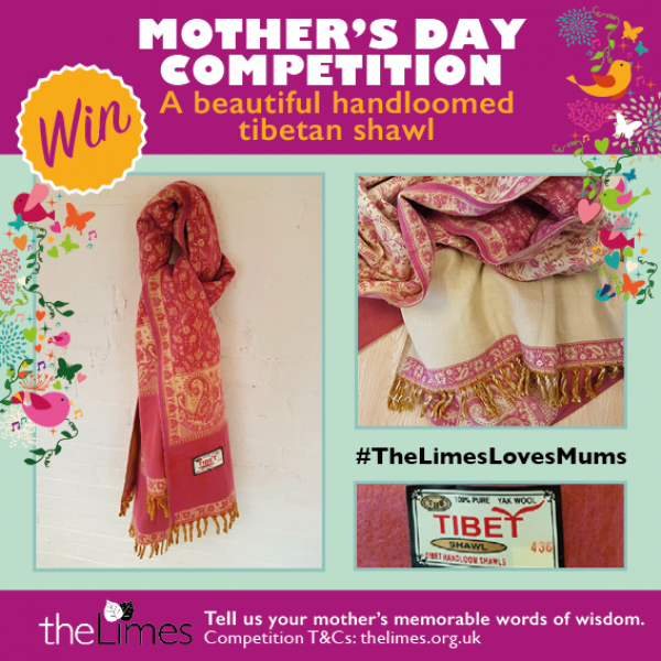 Competition, mothers day, shawl, giveaway