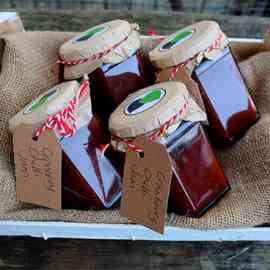 Cranberry Chilli Jam