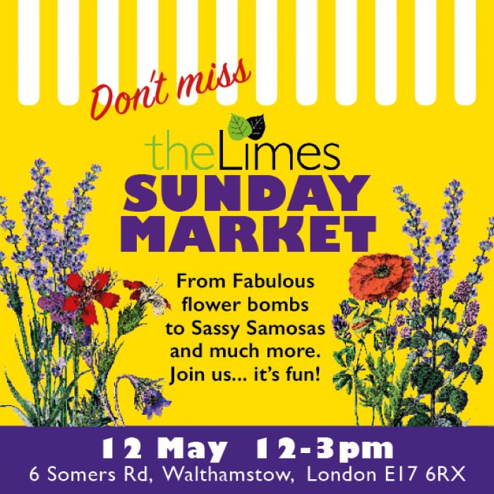 Sunday Market, local market, community, E17, Shop Local