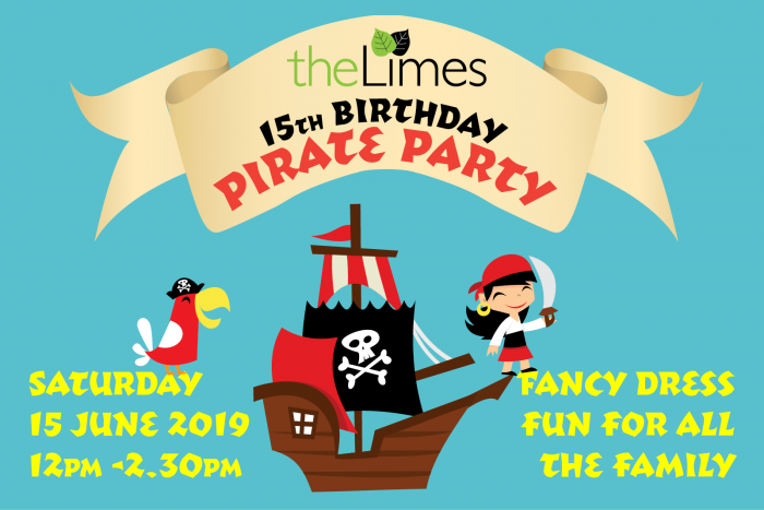 Pirate party, 15th birthday, community fete
