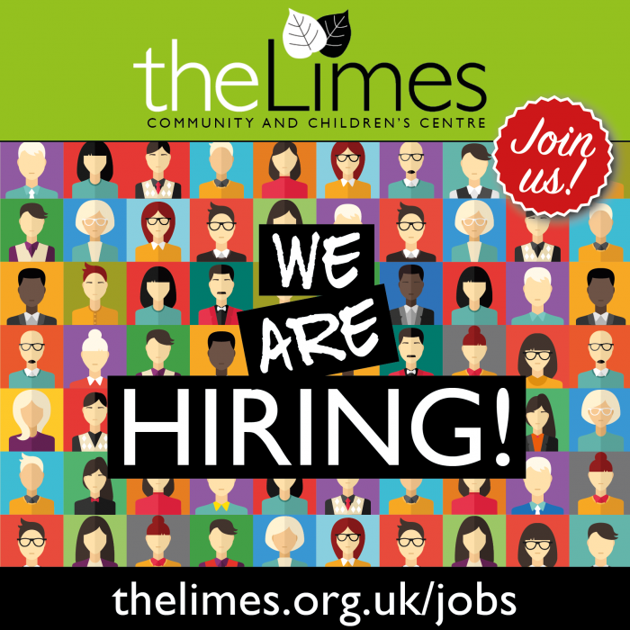 The Limes Hiring, jobs, third sector jobs