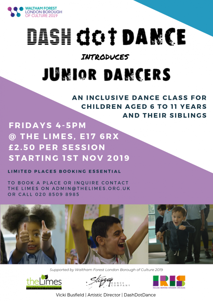 Inclusive dance, IRIS, After-school activity, E17