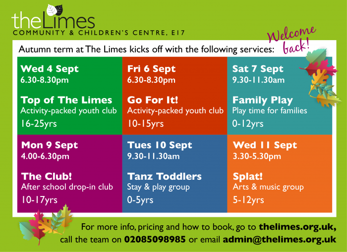 services, schemes, children, youth, play