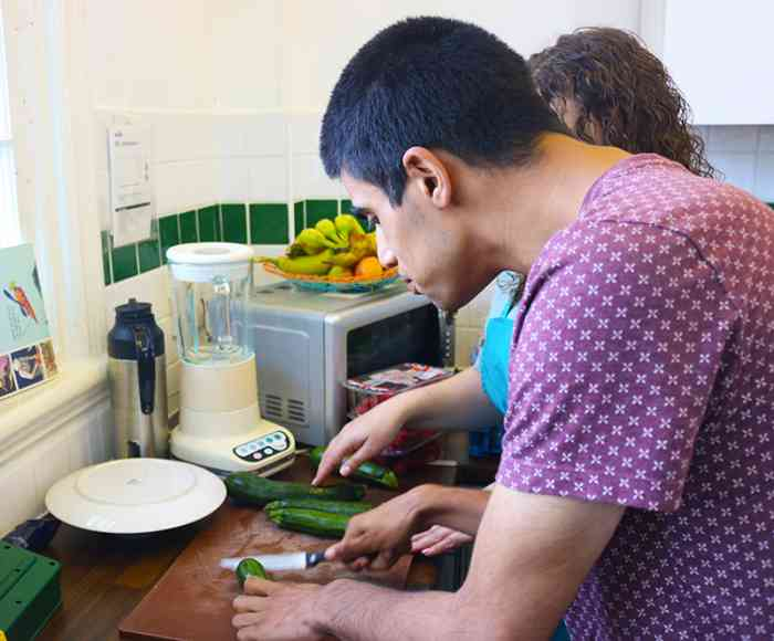 Zest Kitchen, culinary, cooking, lunch, e17
