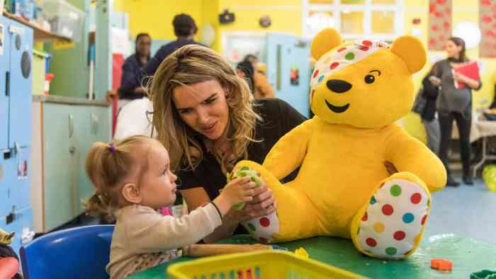 Nadine Coyle, BBC Children in Need, Asda, Power of Play