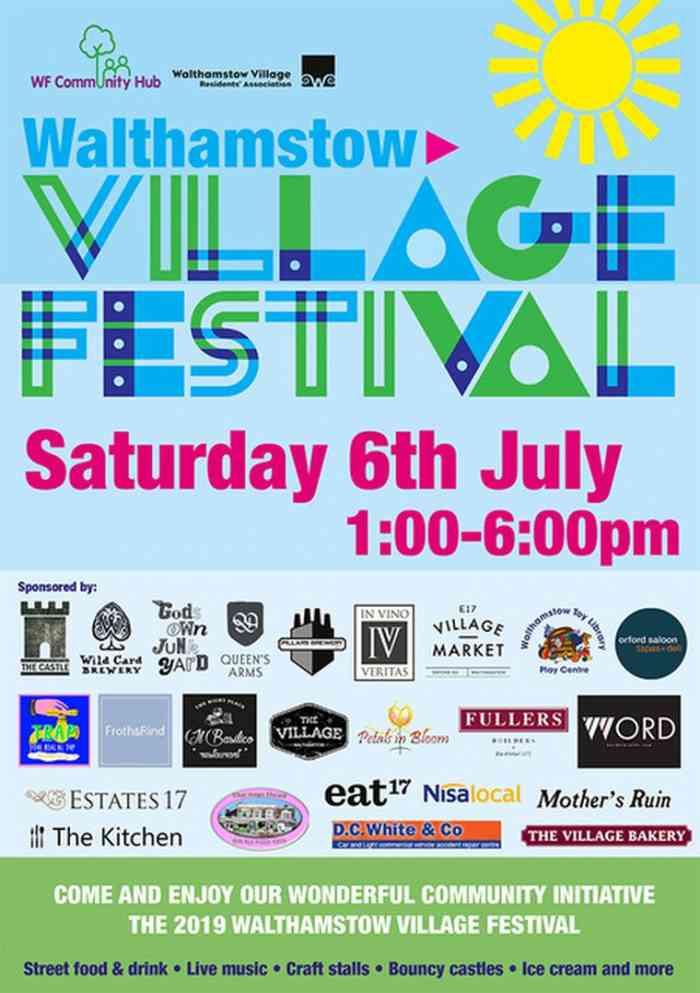 Village festival, community event, e17, Walthamstow, market
