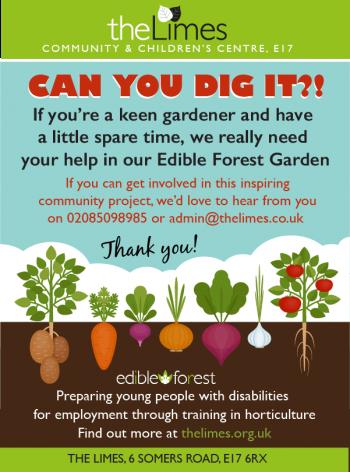 gardening, volunteers, community, Walthamstow, e17